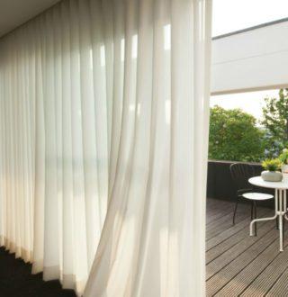 Rideaux et voilages angle vert for Decoration rideaux et voilages